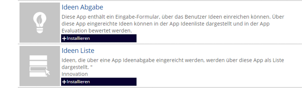 App Ideen carbon connected help hilfe zu carbon connected